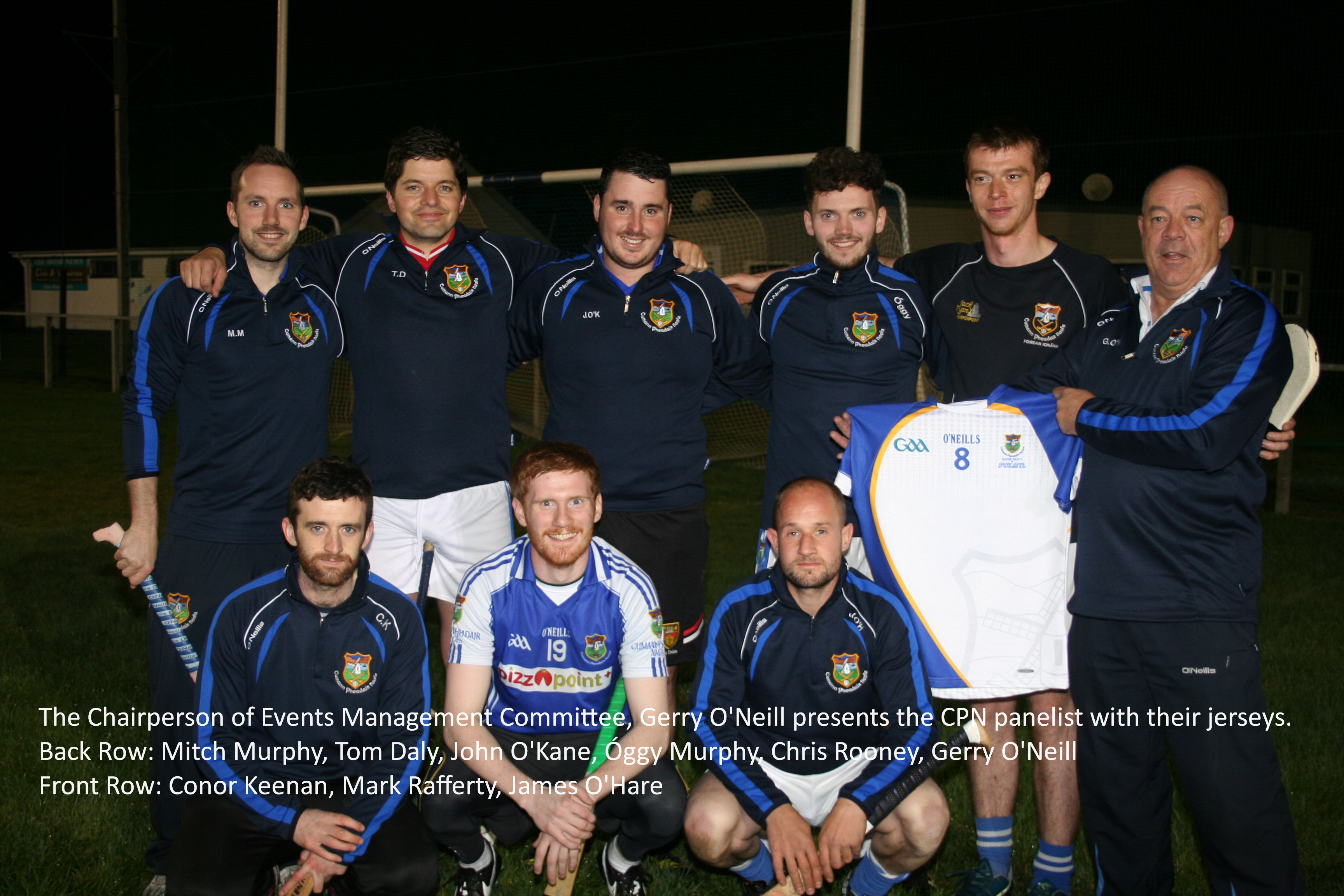 Senior Hurlers join CPN/Ulster panel for Game of Legends
