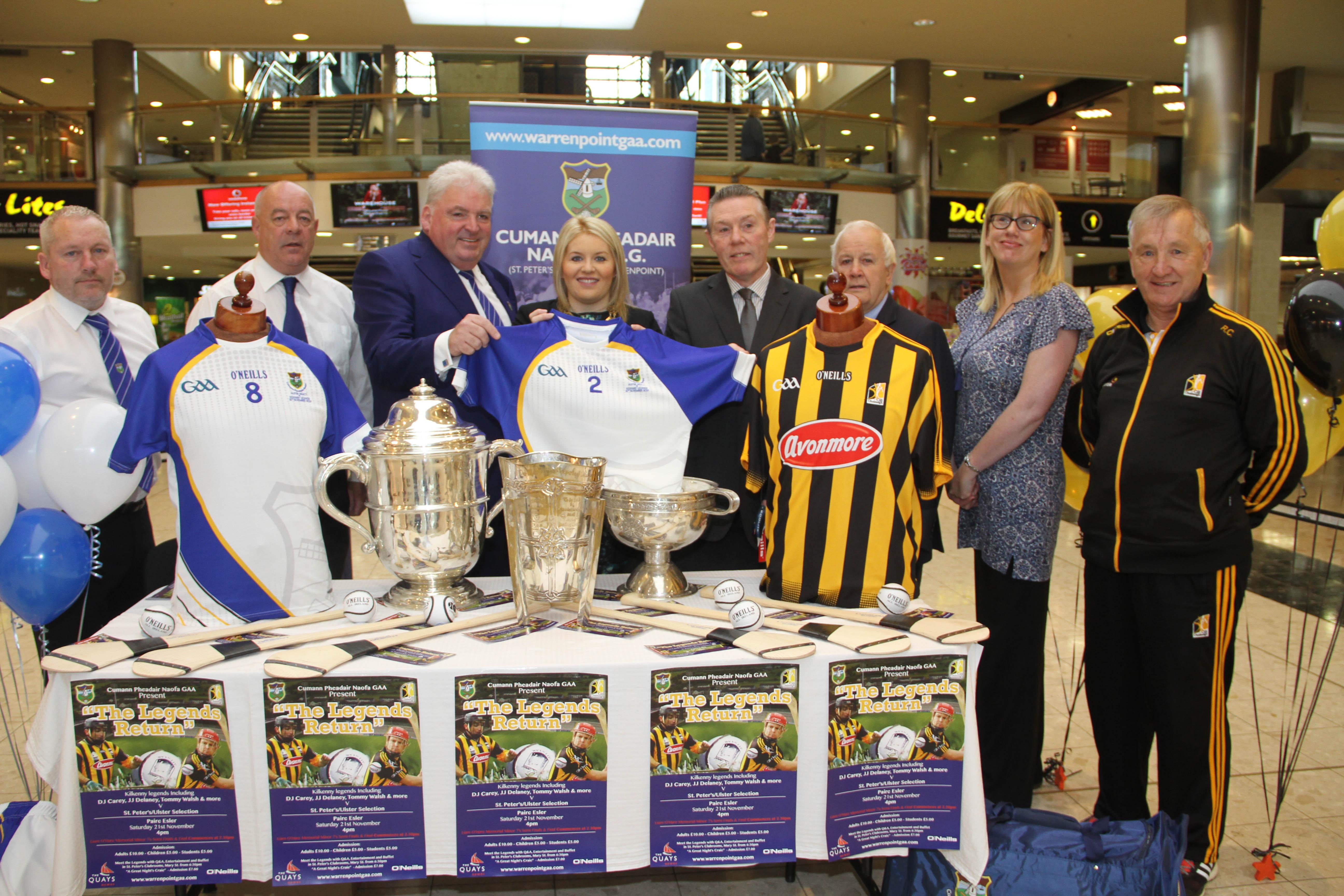 Launch of the Kilkenny Legends Return