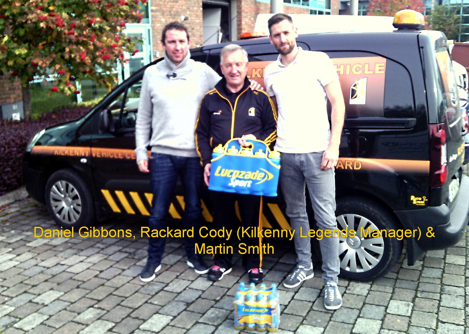 Lucozade sponsors Kilkenny Legends
