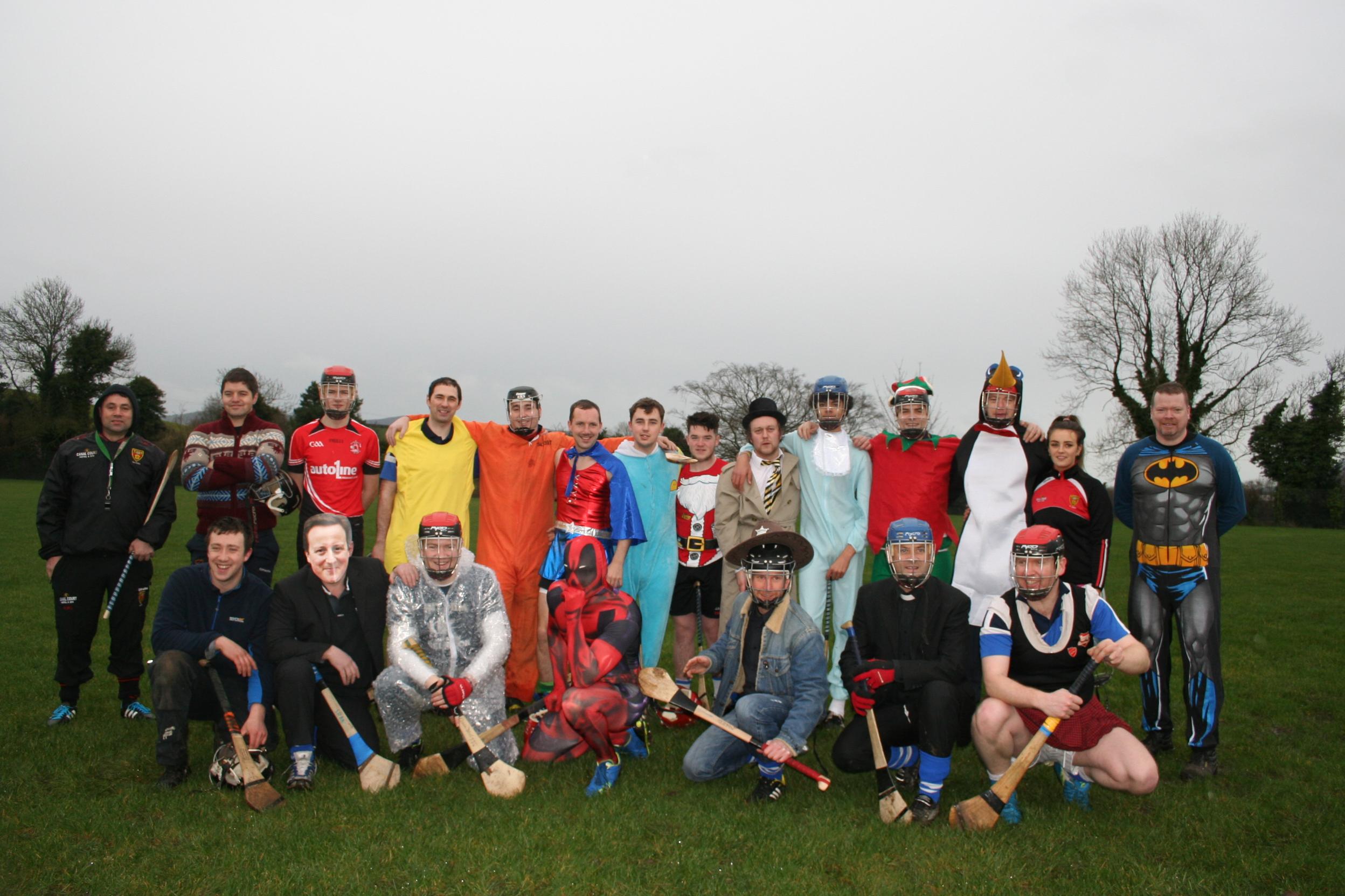 St Stephen's Day Fancy Dress Hurling match
