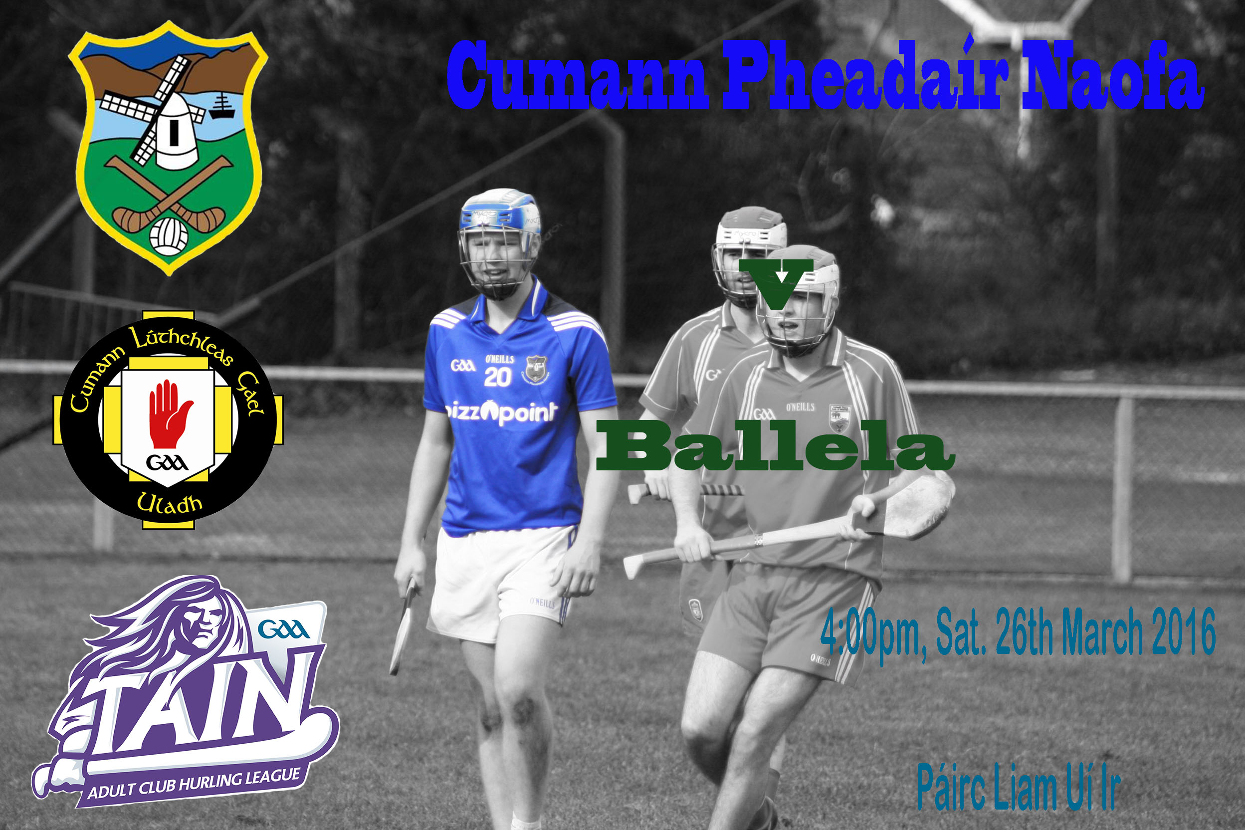 Seniors at home to county Champions, Ballela in round 1