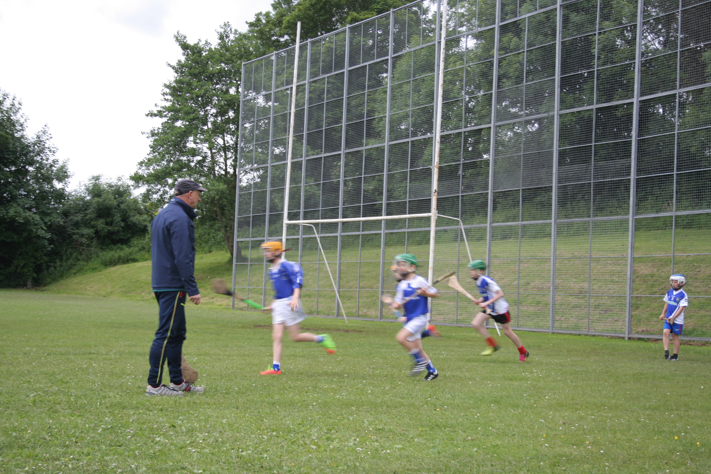 National Hurling Development Manager Martin Fogarty comes to Warrenpoint