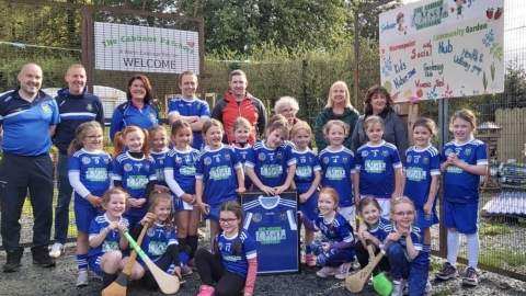 Cabbage Patchers visit for U-7 Camogs